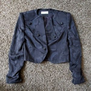 Vintage 100% Silk Saks Fifth Avenue Jacket